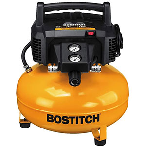 BOSTITCH-Pancake-Air-Compressor,-Oil-Free,-6-Gallon,-150-PSI