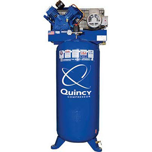 Quincy-QT-54-Splash-Lubricated-Reciprocating-Air-Compressor---5-HP,-230-Volt,-1-Phase,-60-Gallon-Vertical,-Model-Number-2V41C60VC