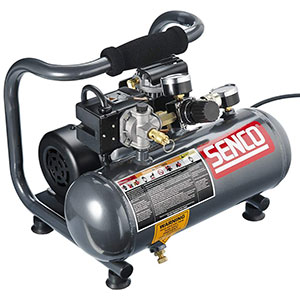 Senco-PC1010-1-Horsepower-Peak,-1-2-hp-running-1-Gallon-Compressor