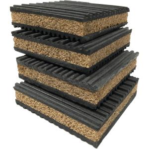 PneumaticPlus 4 Pack of Anti-Vibration Pads