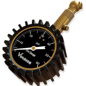 Vondior 0-60 PSI Analog Tire Pressure Gauge