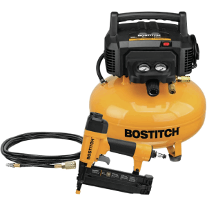 BOSTITCH Air Compressor Combo Kit with Brad Nailer