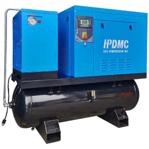 HPDMC ASME Rotary Screw Air Compressor