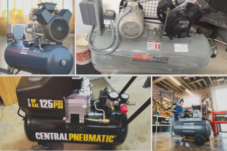Oil-Lubricated Air Compressors