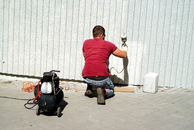 spray paint compressor